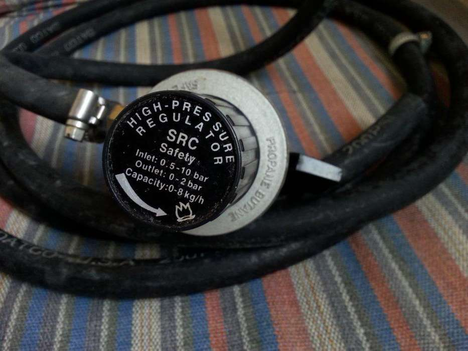 Regulador de gas valvula