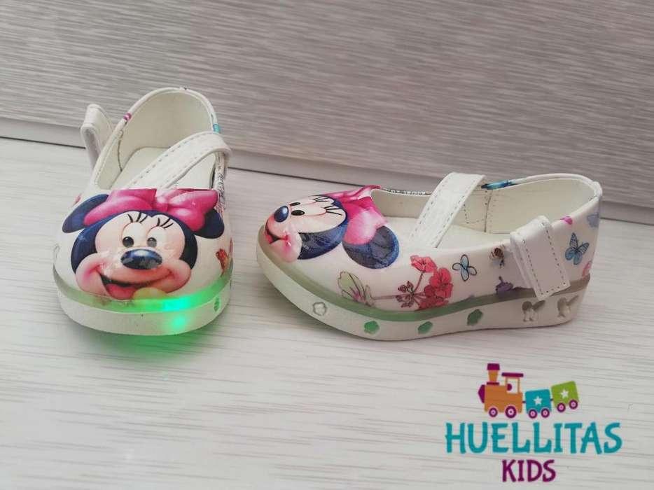 Zapatos Led Minnie