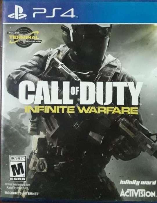 Call Of Duty Infinity Warfare ps4 fisico