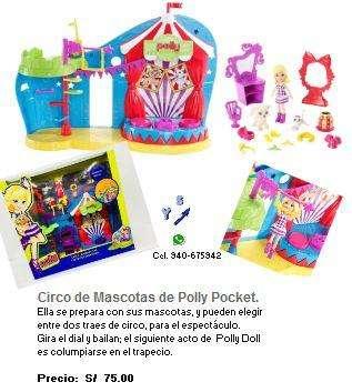 POLLY POCKET CIRCO DE MASCOTAS