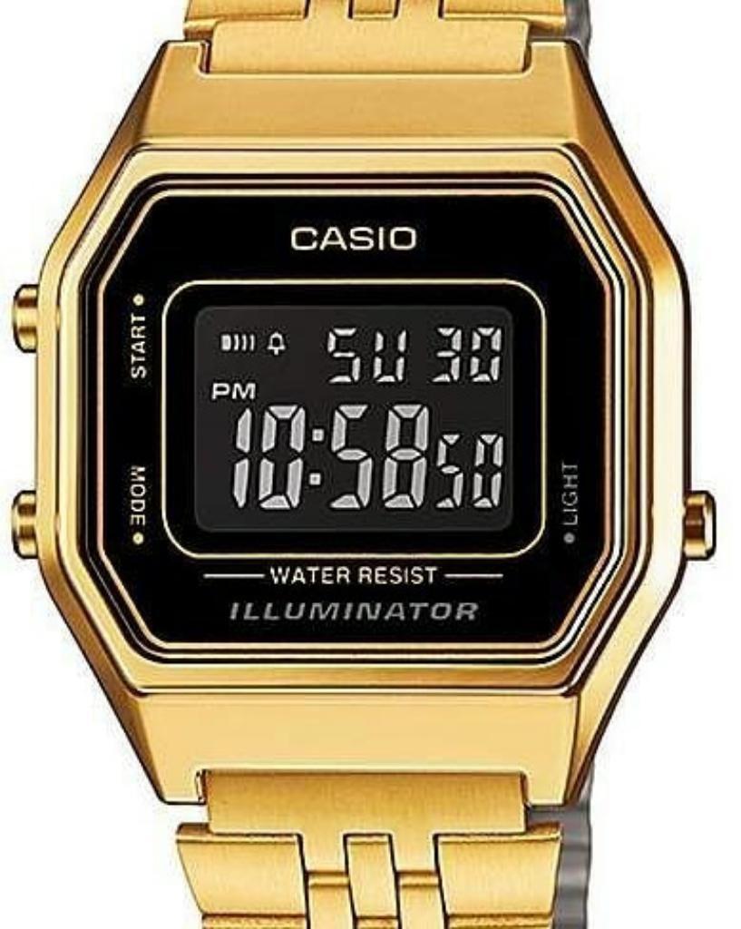 bff18a66428a Reloj Casio Clásico Dorado Unisex - Manta