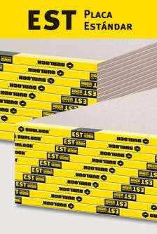 Placas de Yeso Durlock 9,5mm