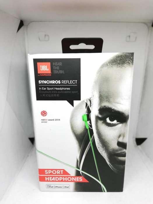 Audífonos Jbl Synchros Reflect I (iPhone) Verde, In - Ear