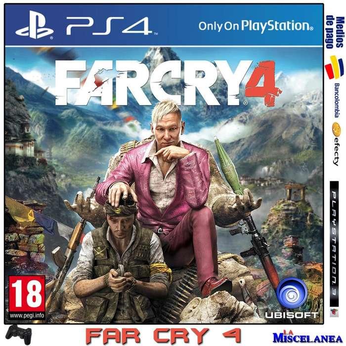 Far Cry 4 Ps4 Original
