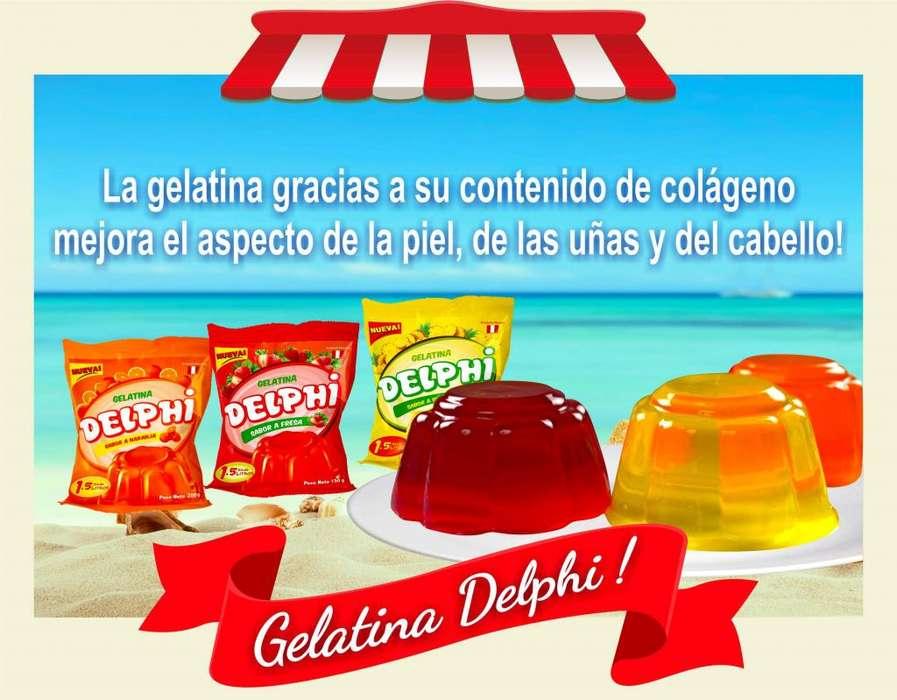 Beneficios de la gelatina para la <strong>salud</strong> Productos Delphi