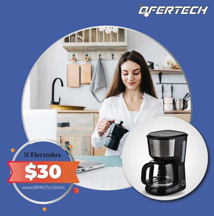 Cafetera Electrolux CMM20