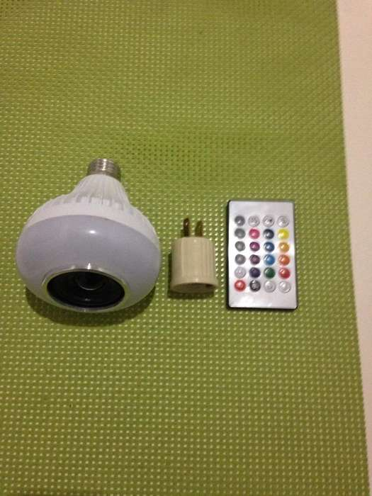 Bombillo Led Bluetooth Control Colores