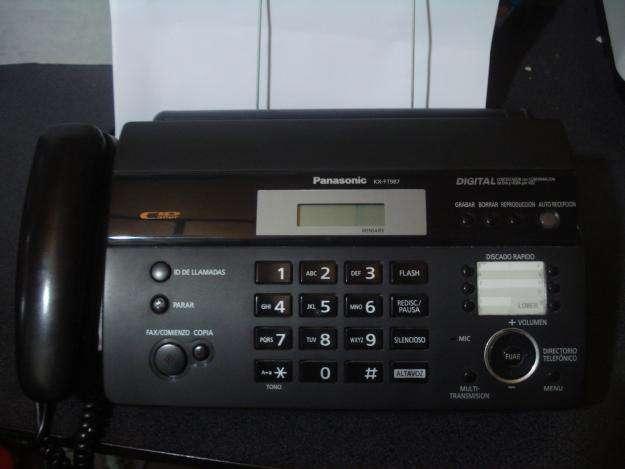Fax <strong>panasonic</strong> Kxft987