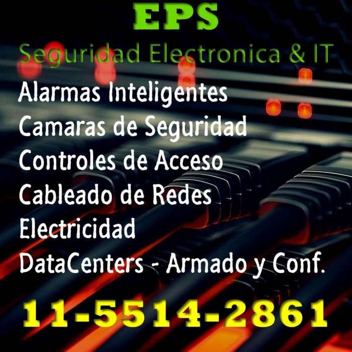 Instalación de Alarmas Cámaras Y Redes