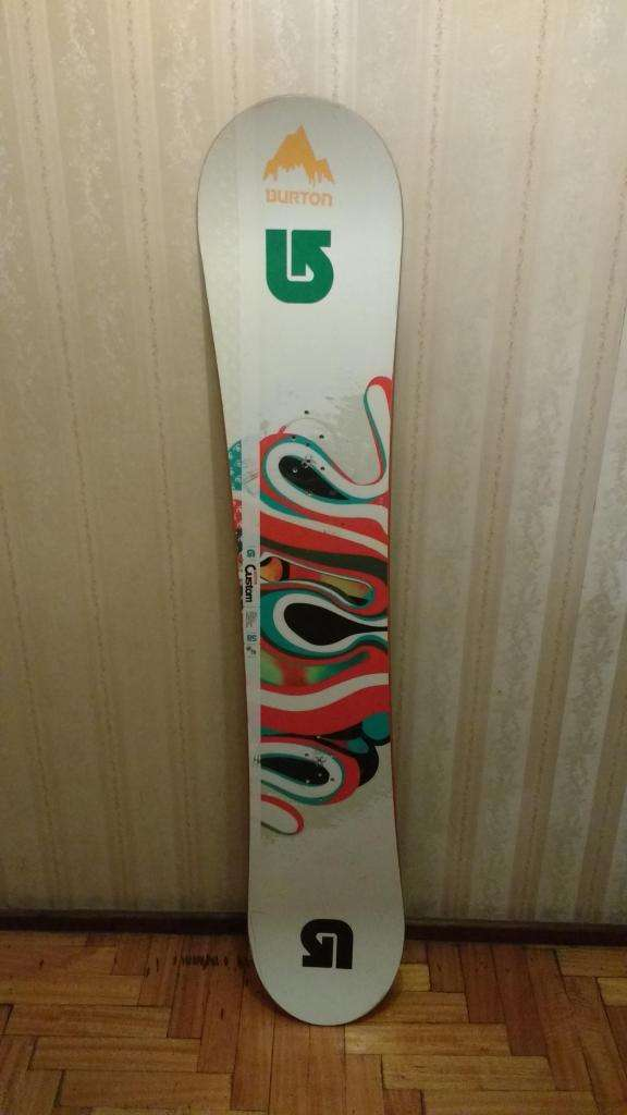 Tabla Snowboard BURTON CUSTOM Canadiense 158cm
