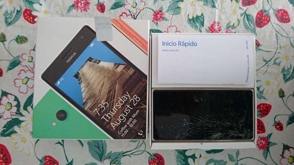 Nokia Lumia 735 con Pantalla Touch Rota