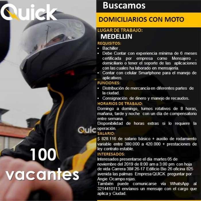 Mensajeros Motorizados Medellín