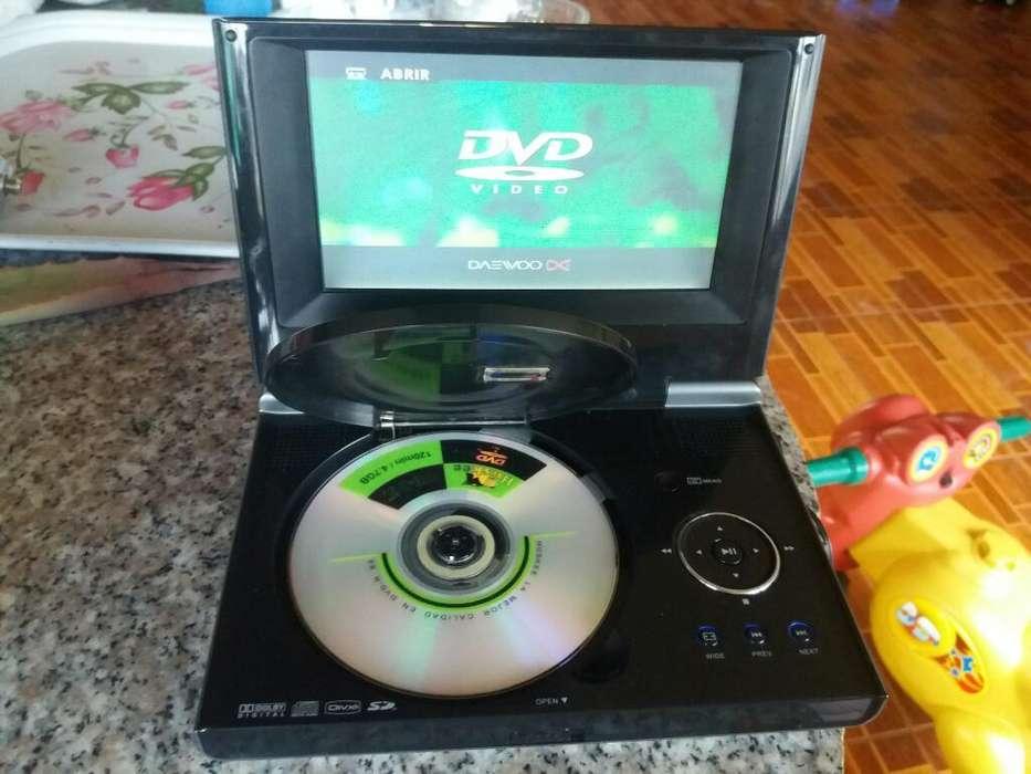 Vendo Tv Dvd Daewood Portatir