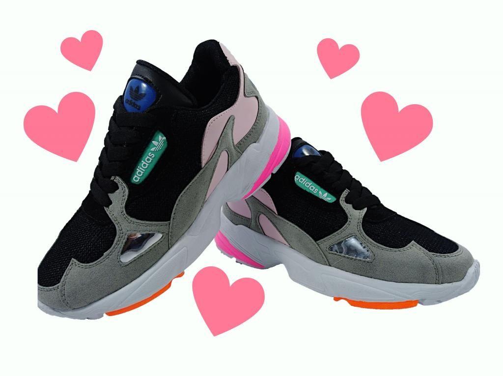 Tenis Zapatillas Adidas Falcon para Mujer y Niñas
