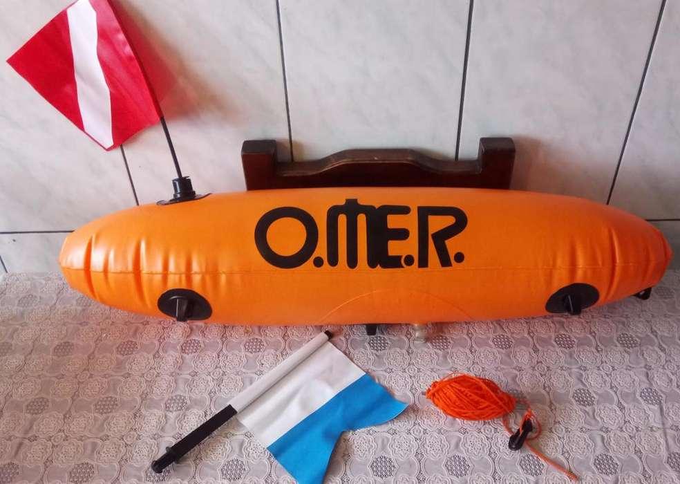 Flotador / Boya Para Pesca Submarina, Buceo O Apnea Omer