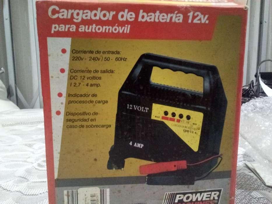 Cargador de Bateria 12v.