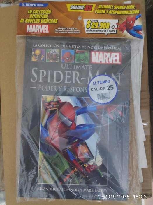 Salida 25 Colección Marvel El Tiempo