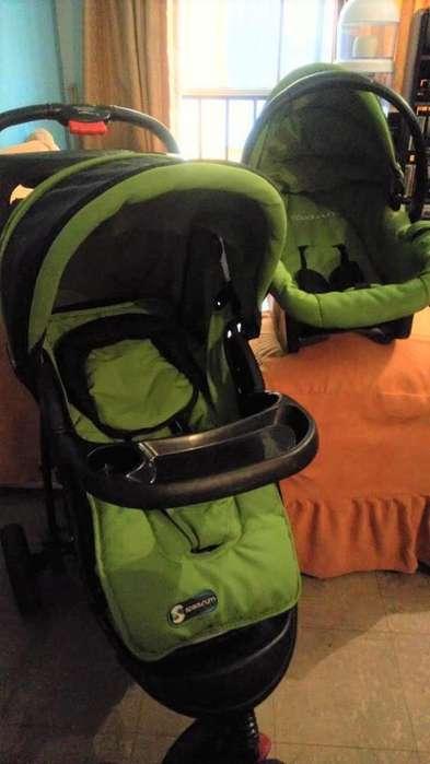 Coche y silla para vehiculo Marca Espectrum