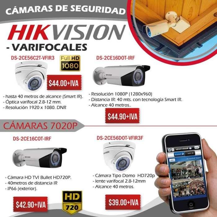 VARIFOCAL HIKVISION/<strong>camaras</strong> VARIFOCALES 720P/1080P-<strong>camaras</strong> DE SEGURIDAD 40 METROS-QUITO-ECUADOR
