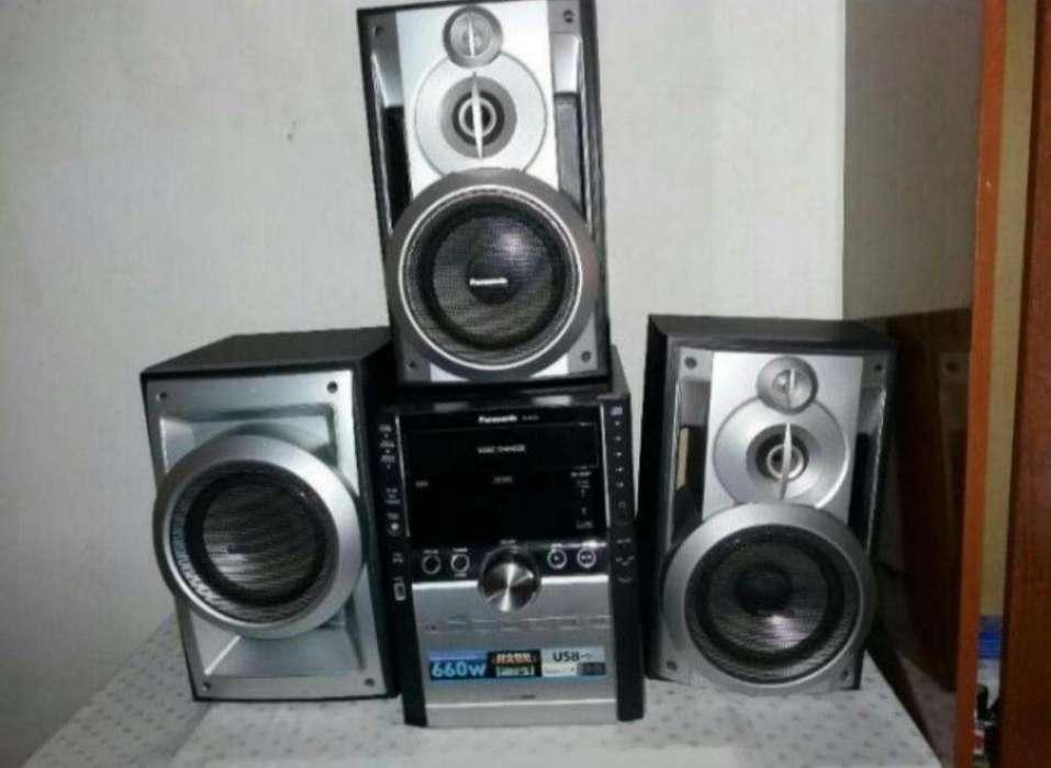 Equipo de Musica Panasonic 660 W