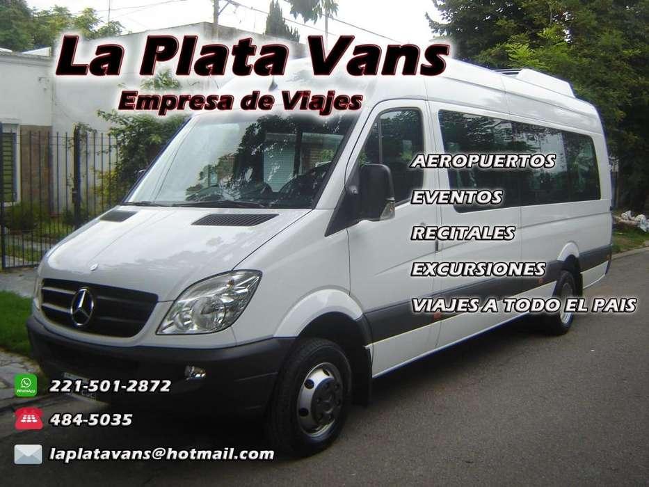 La Plata Vans - Empresa de Viajes