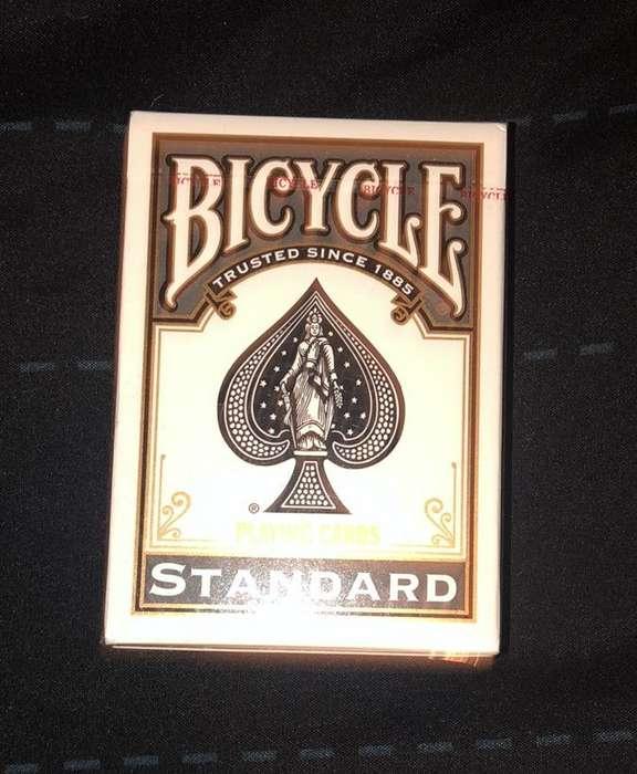 Baraja Standard Negra Bicycle