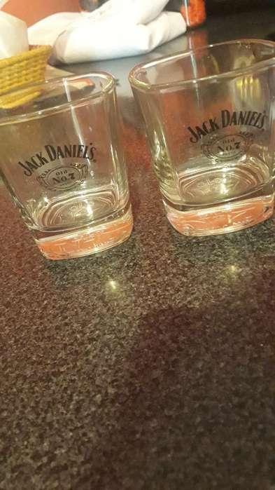 Par Vasos Edic Especial Jacks Daniels