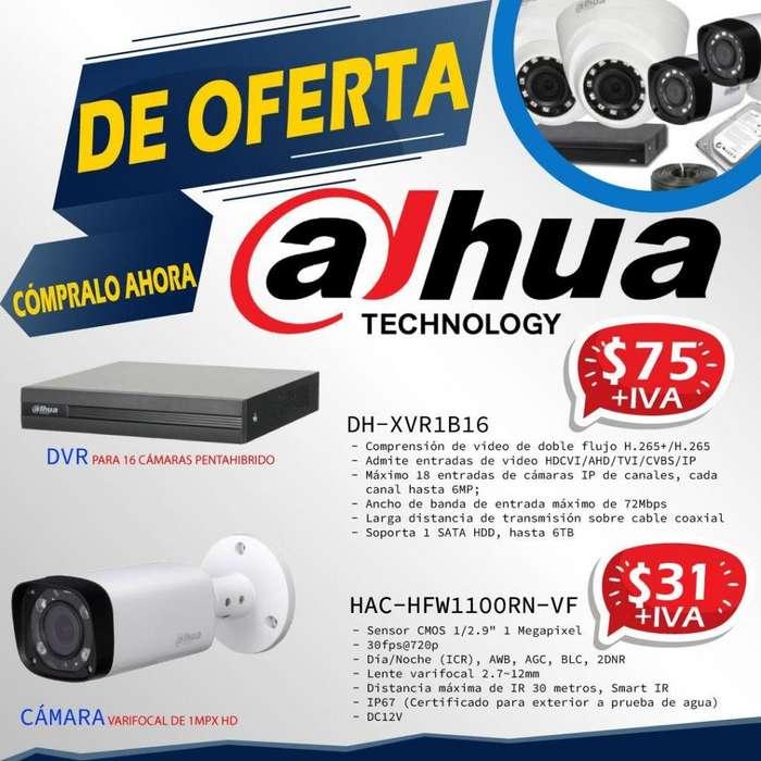 VARIFOCAL DAHUA/ <strong>camaras</strong> VARIFOCALES DAHUA/DVR 16 CANALES DAHUA-QUITO-ECUADOR