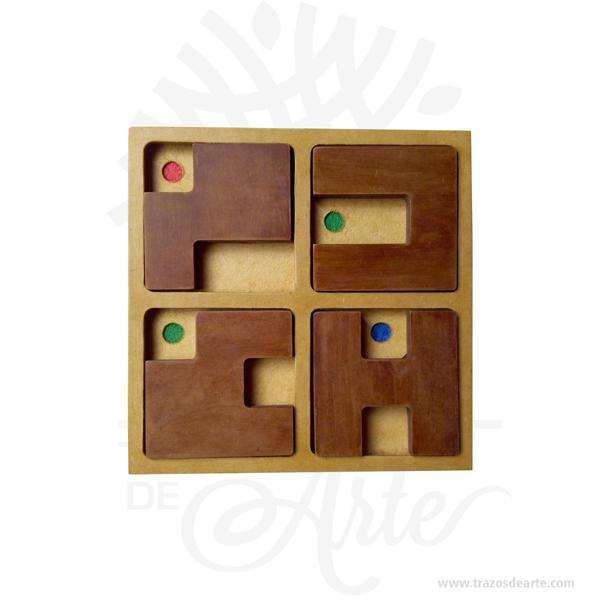 Juego Concéntrese en MDF 21 x 21 cm – Precio COP