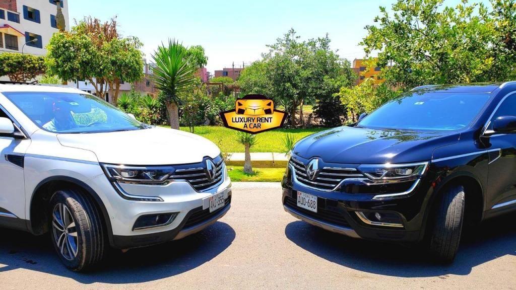 ALQUILER DE CAMIONETAS SUV -  RENAULT - LUXURY RENT A CAR