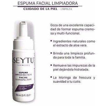 Espuma limpiadora facial / SEYTÚ
