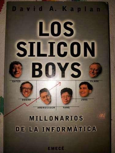 Los Silicon Boys, David Kaplan, usado buen estado. Emecé.