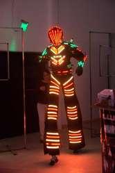 ROBOT  DE LED  DE  CORDOBA