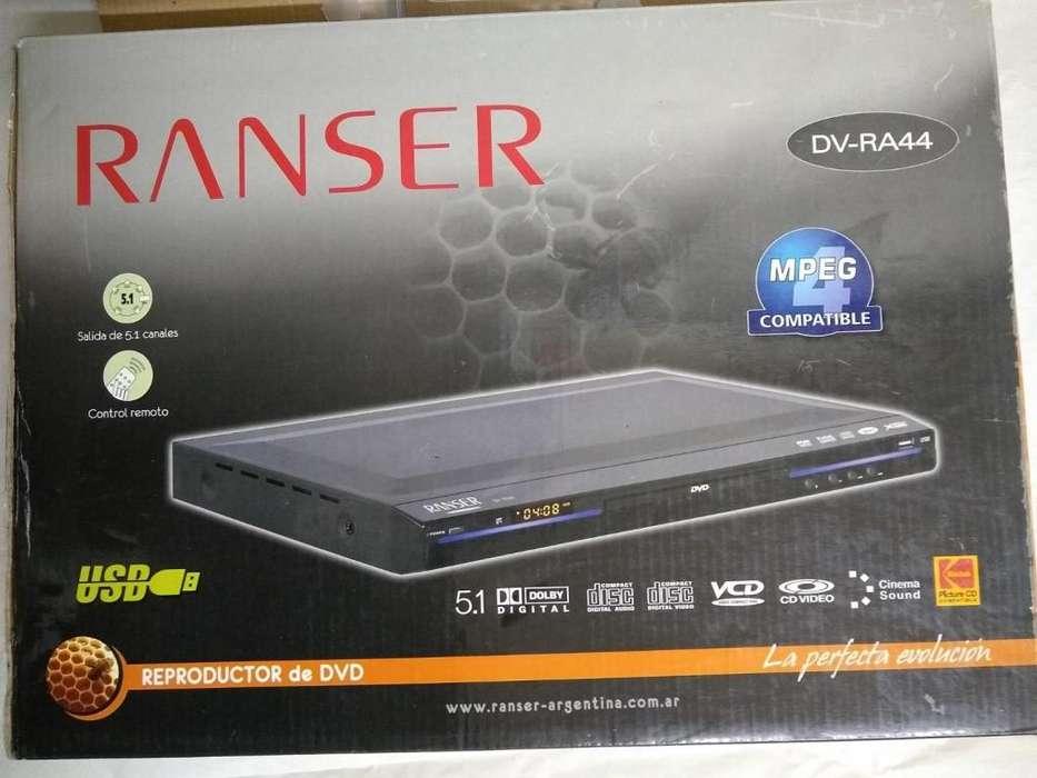Reproductor nuevo en caja Dvd Ranser Dv - Ra 44