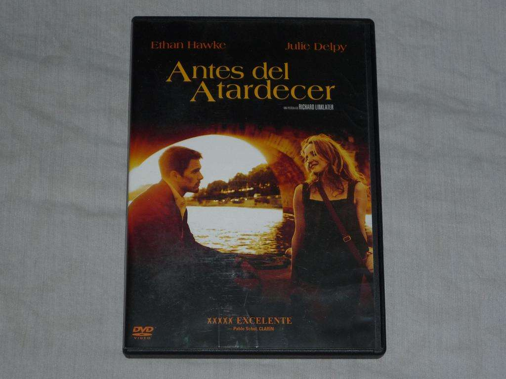 Antes del Atardecer Ethan Hawke. Dvd Impecable!