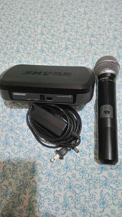 Cambio Micrófono Shure por Power