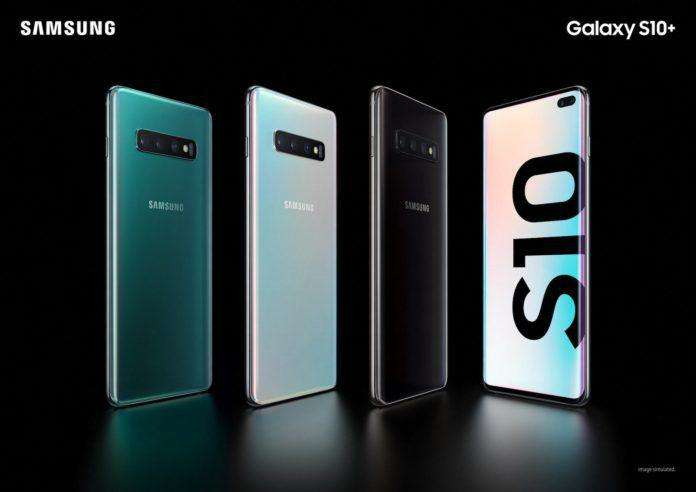 Image result for samsung s10 plus caja