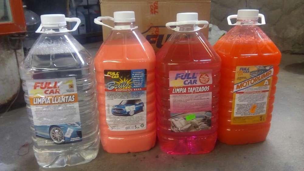 Productos para Lavaderos de Vehiculos