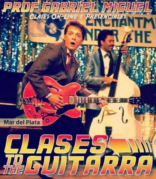 Clases de Guitarra, bajo Y Bateria