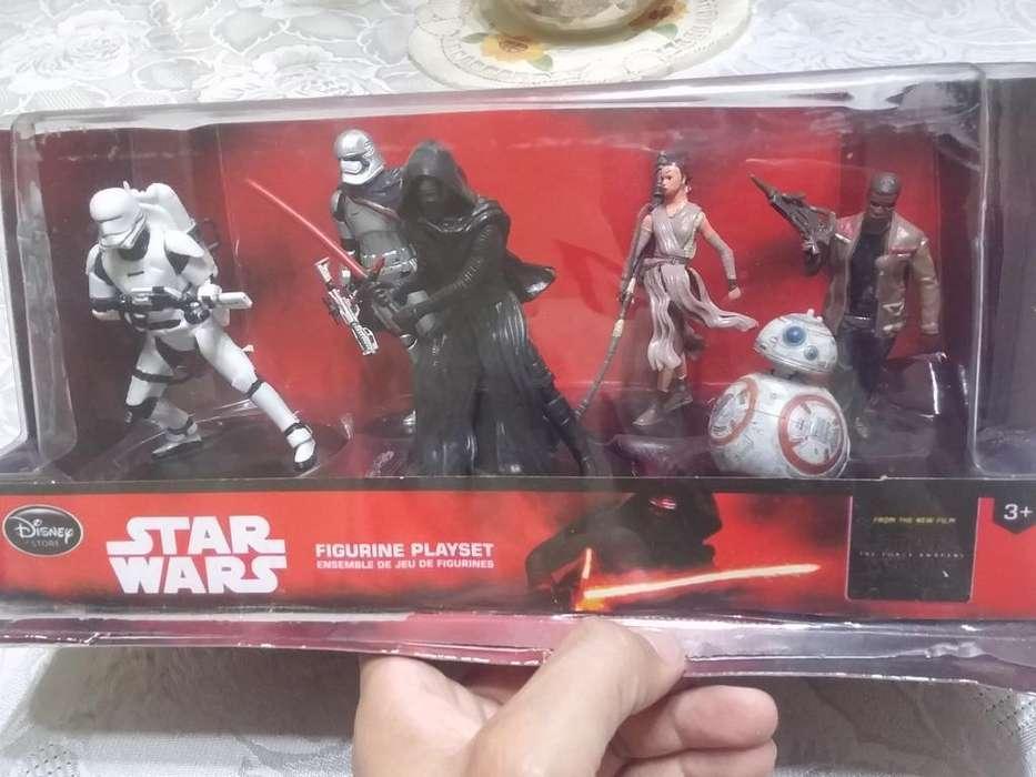 6 Figuras de Star Wars