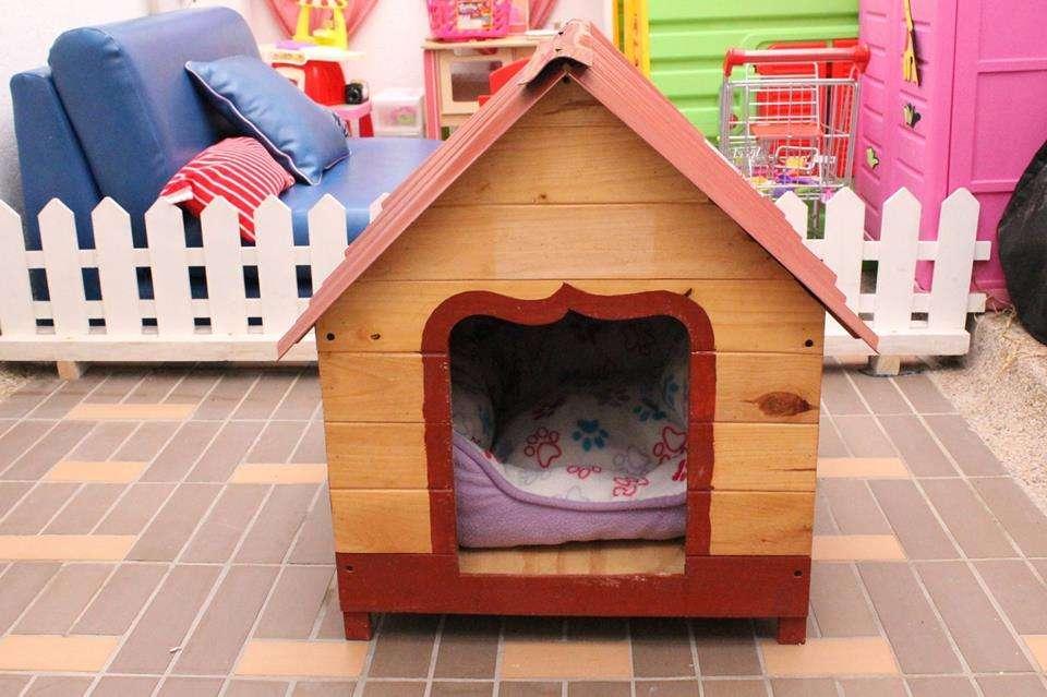 Casa para perros raza mediana