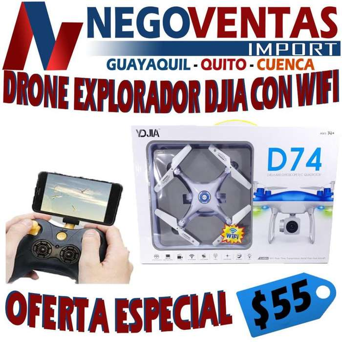 DRON EXPLORADOR DJIA CON WIFI