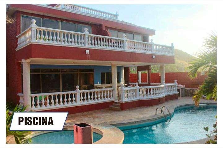 1. Alquilo cabaña frente al mar en santa Verónica entre Barranquilla y Cartagena
