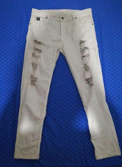 Pantalón Rasgado para Hombre