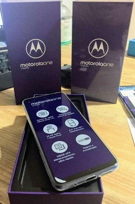 Motorola One Vision Nuevos,libres de Fca