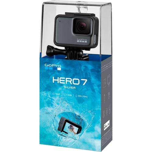Cámara Hero 7 Silver GoPro