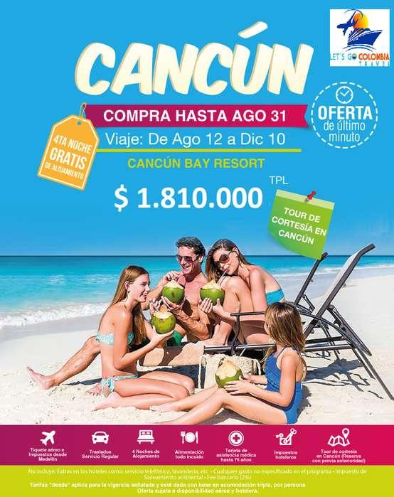 Oferta a Cancún