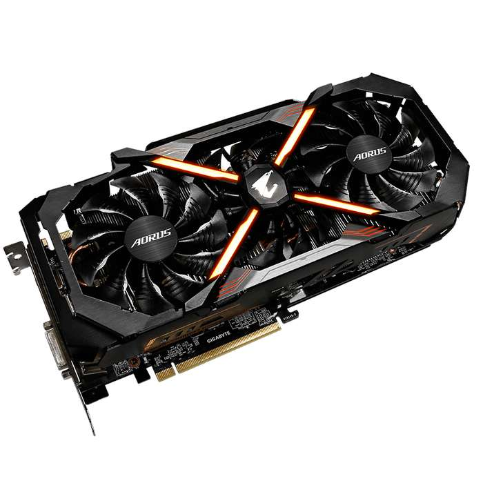 Tarjeta de video Geforce gtx 1080ti 11gb Gigabyte 1 mes de uso