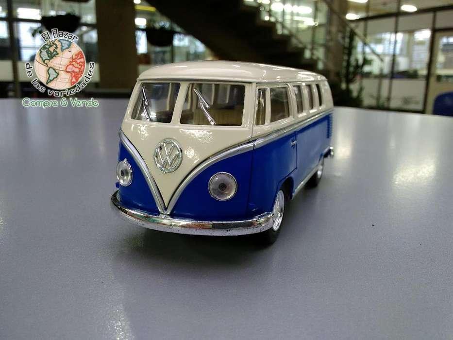 Auto de colección Volkswagen Classical Bus 1962 Escala 1/32 Camioneta Van