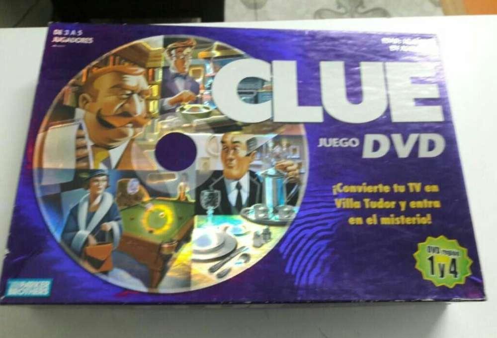 Juego de Mesa Original Clue Dvd